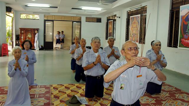 DSC06250 Lễ Hiệp kỵ   Lễ Huý Nhật Cư sĩ Sáng lập viên GĐPT Việt Nam   Tâm Minh Lê Đình Thám