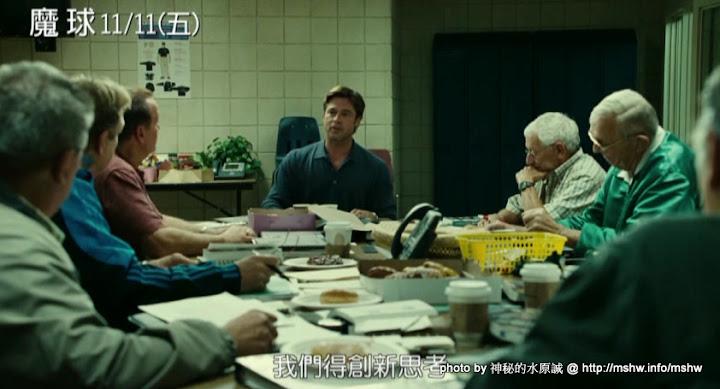 """ID野球的另一種呈現方式!你怎麼能不愛棒球? ~ 電影""""魔球 Moneyball"""" 棒球 運動 電影"""