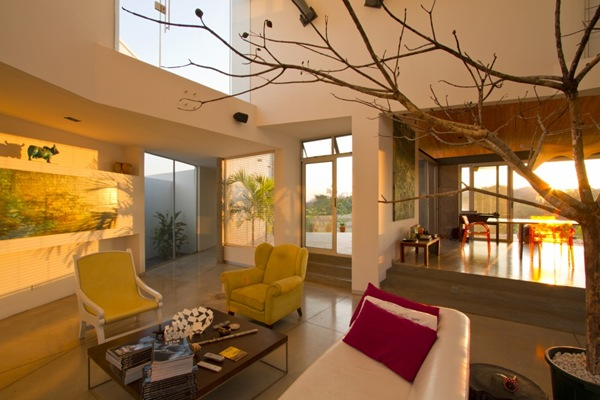interior casa moderna anapanasati aarcano arquitectura