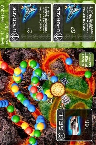 Marbles TD- screenshot