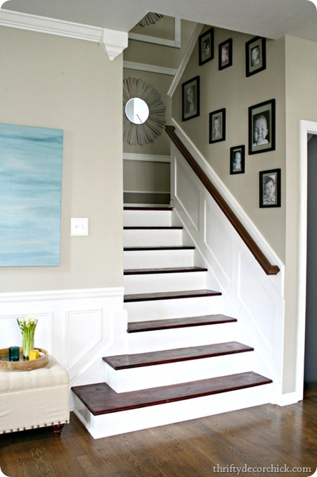 wood staircase