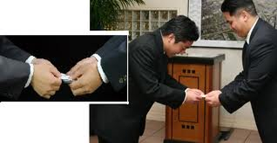 Alizul 8 pieces of international business etiquette you need to know the japanese are incredibly particular about business cards they must be presented with both hands and accepted with both hands front side up reheart Image collections