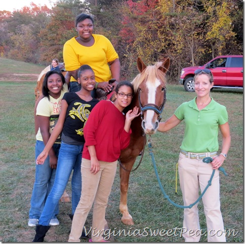 MMS Girls and Horse