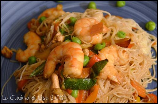 La cucina di lisa gennaio 2012 for Gamberi alla piastra cinesi