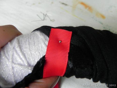 wrap red ribbon