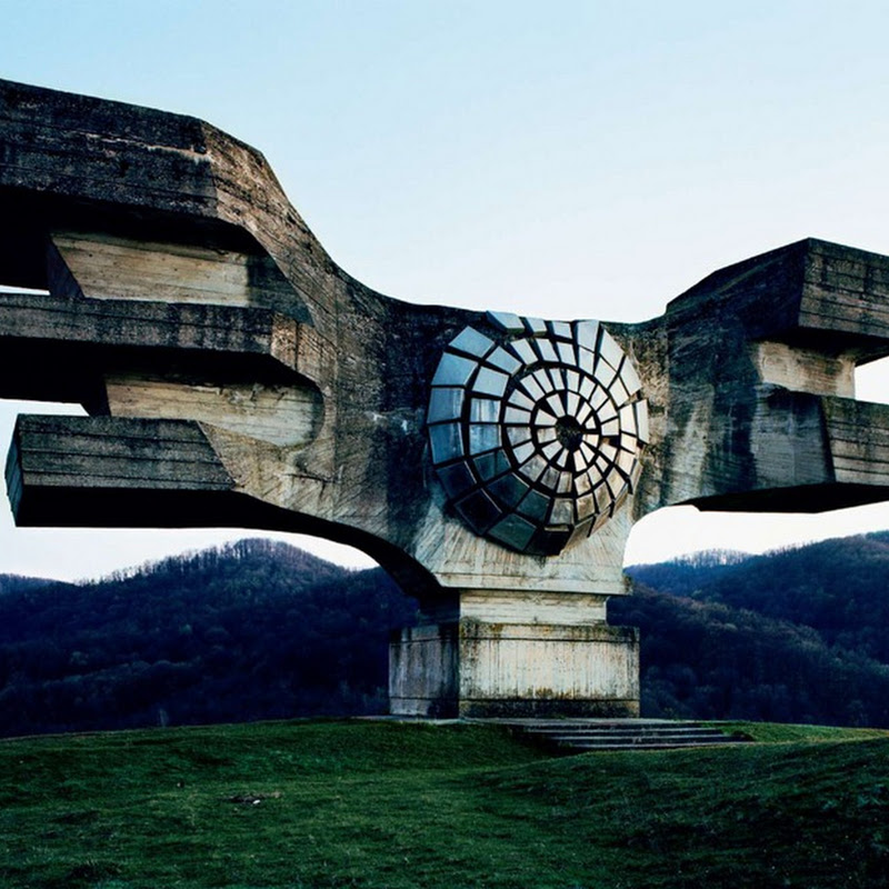 Abandoned World War II Monuments and Memorials in Yugoslavia