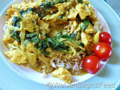 June 2 Curried Coconut Chicken 006