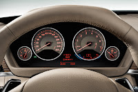New BMW 3 Series: Instruments Modern Line with lighting (10/2011)
