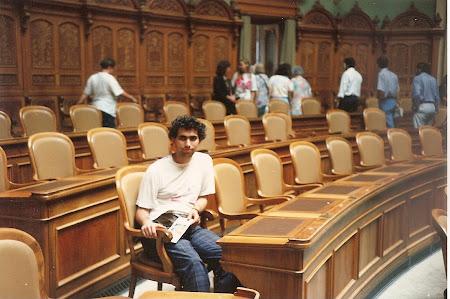 Ce vizitam la 20 ani: In Parlamentul de la Berna