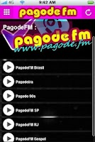 Screenshot of Pagode FM