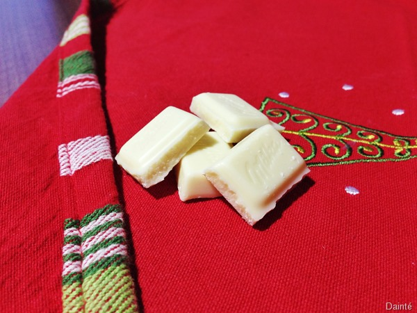 white chocolate recipe