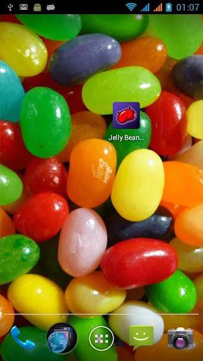 Jelly Bean Shake LiveWallpaper