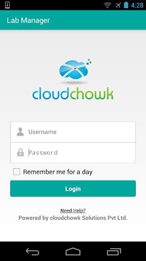 cloudchowk's Lab Manager