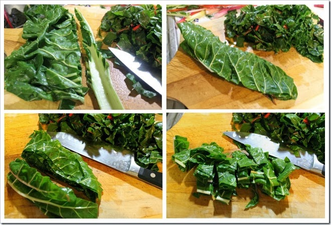 Swiss Chard and Potato Soup | Instrucciones step by step, quick and easy