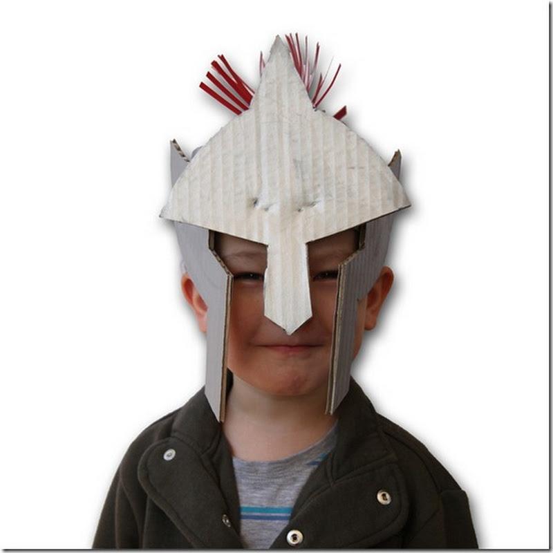 Como hacer un casco de Gladiador romano