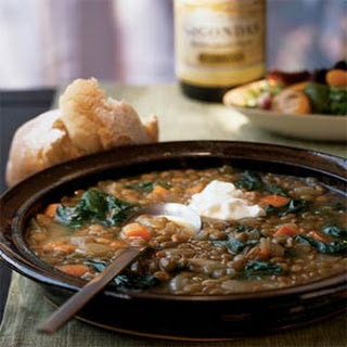 Lentil Soup with Chard