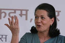 Mrs. Sonia Gandhi, leader of the Ruling Party of India, the Congress party, leader of the ruling coalition of India, United Progressive Alliance [UPA], but not the Prime minister of India. Heads the National Advisory Council [NAC]