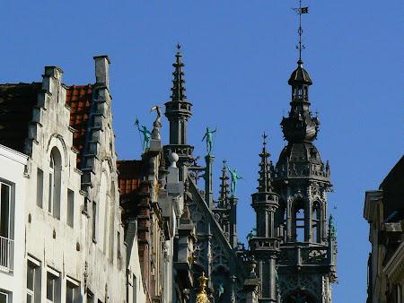 Obiective turistice Bruxelles: turnuri si turnulete la Bruxelles