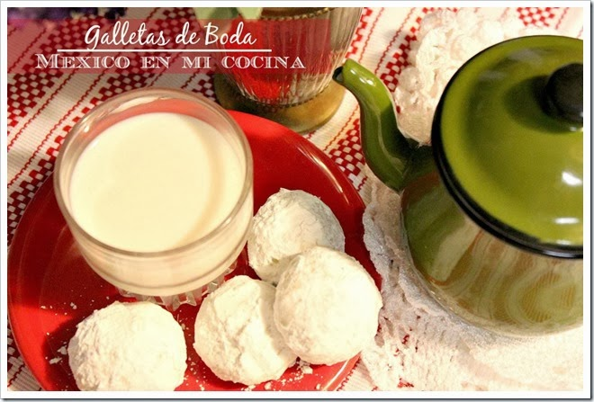 mexican wedding cookies, This recipe is done in minutes!