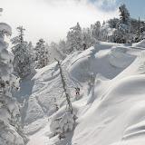先行スキーヤー