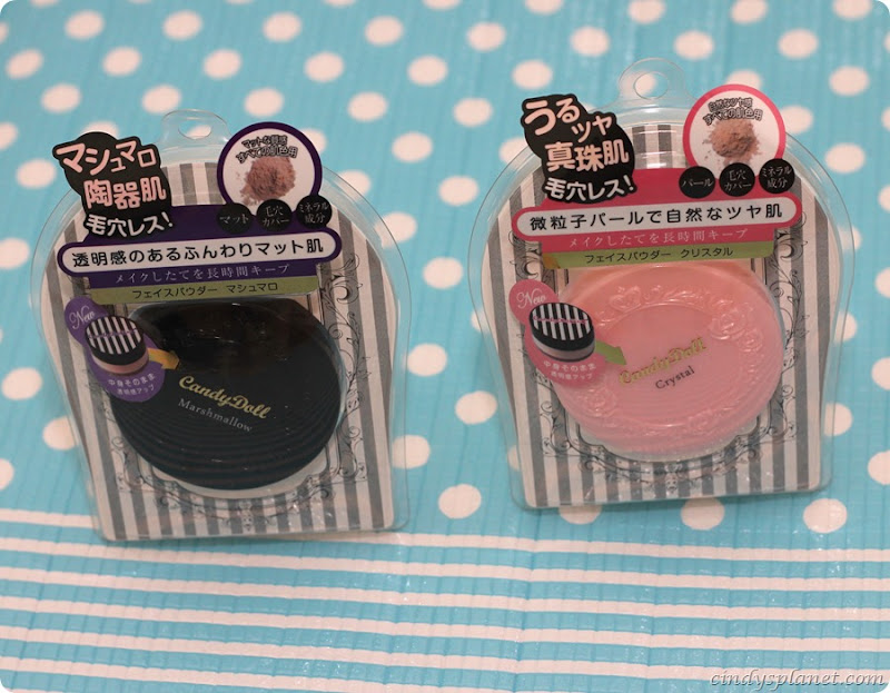Candydoll face powder review3