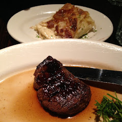 Steak and Au Gratin potatoes