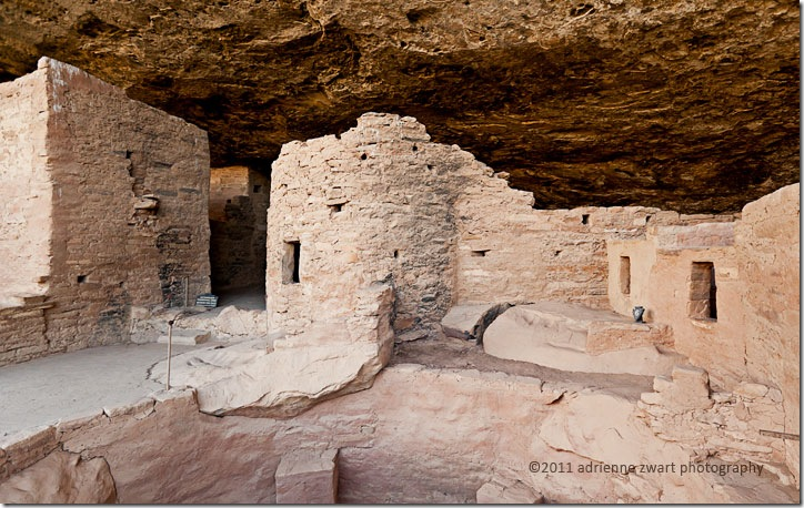cliff dweller ruins at Mesa Verde National Park - photo by adrienneinohio.blogspot.com