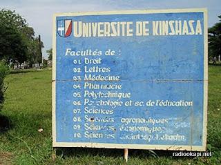 Entrée Université de Kinshasa