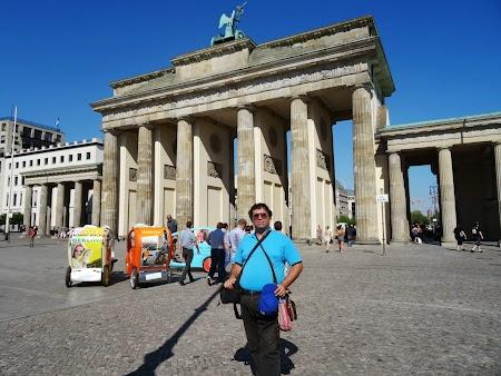 Obiective turistice Berlin: Poarta Brandenburg