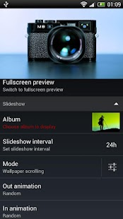 Slideshow HD Live Wallpaper Screenshot