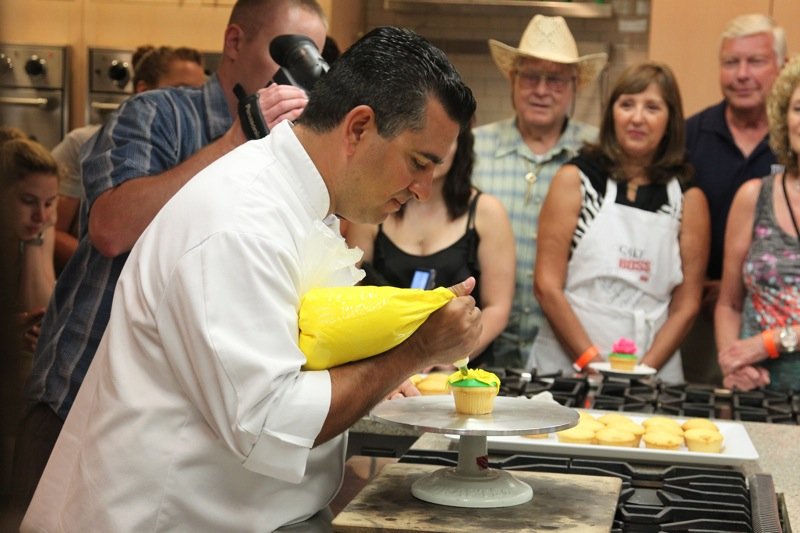 Buddy valastro teaching a class at harrahs atlantic city