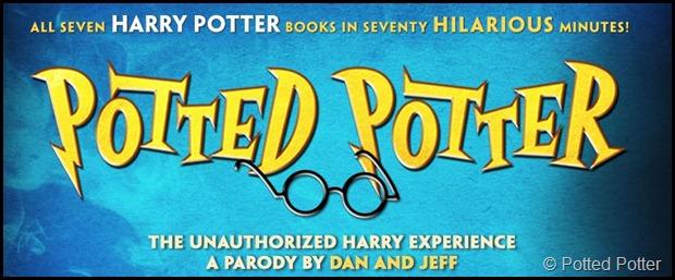 Potted Potter banner