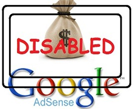 restore disabled AdSense Accounts