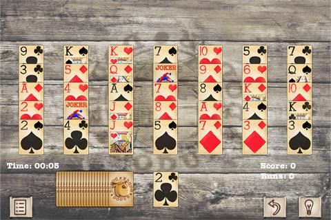 Golf Solitaire Free - screenshot
