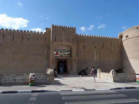 Obiective turistice Dubai: Fort Dubai