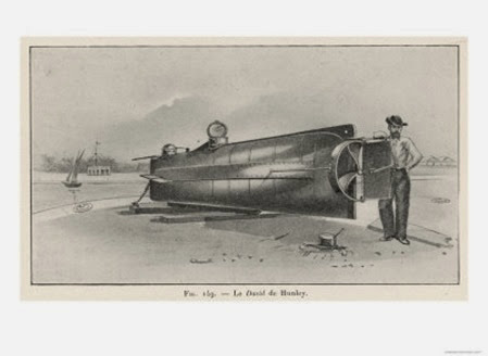 submarine hunley