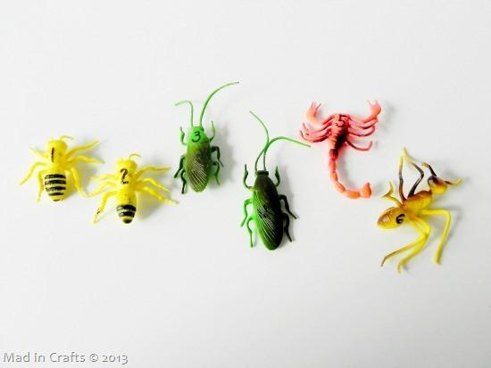 dollar store bugs