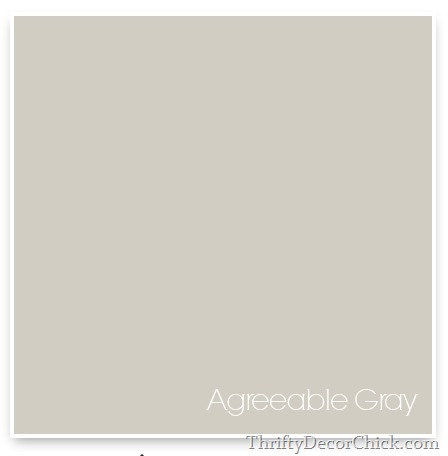 Agreeable Gray, Sherwin Willams