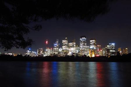 Obiective turistice Sydney: Un oras frumos si noapyea