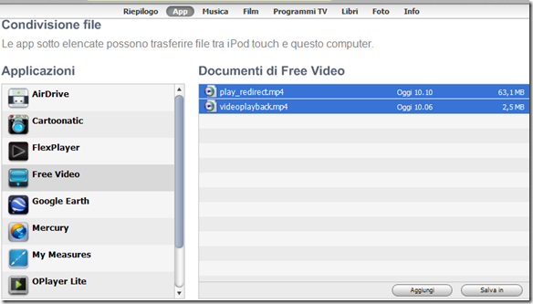 iBolt Downloader Free Video copiare nel PC i video scaricati