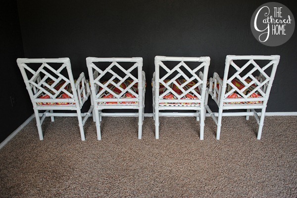 wicker chinese chippendale chairs 5
