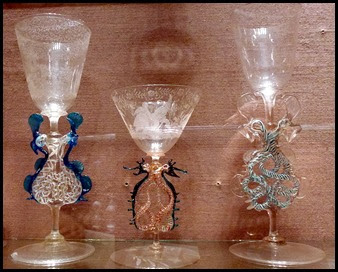 02f - Corning Glass Museum - Blue Goblets