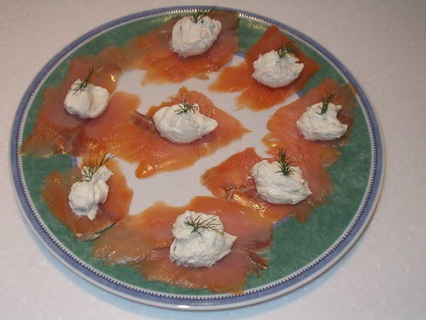 Smoked Salmon with Philadelphia Cheese