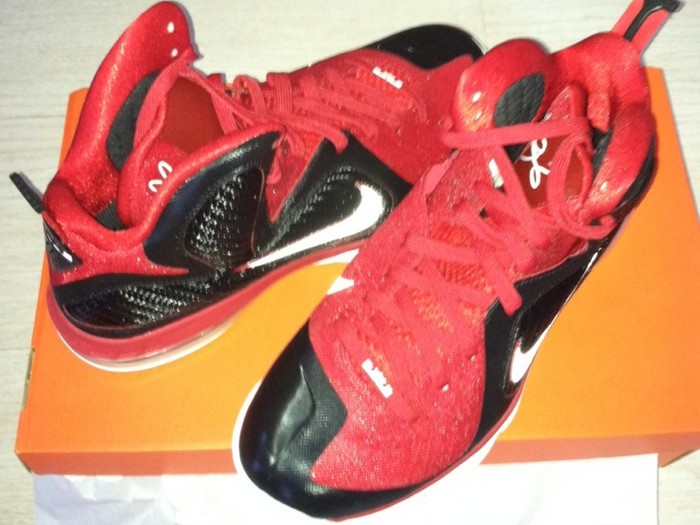 timeless design 18647 4f1ca ... First Look at LeBron 9 Shooting Stars AAU 2012 Player Exclusive ...