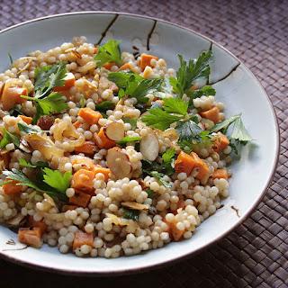 Pickled Sweet Potato Couscous Salad.