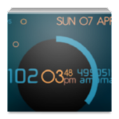 UCCW Series Clock Widget
