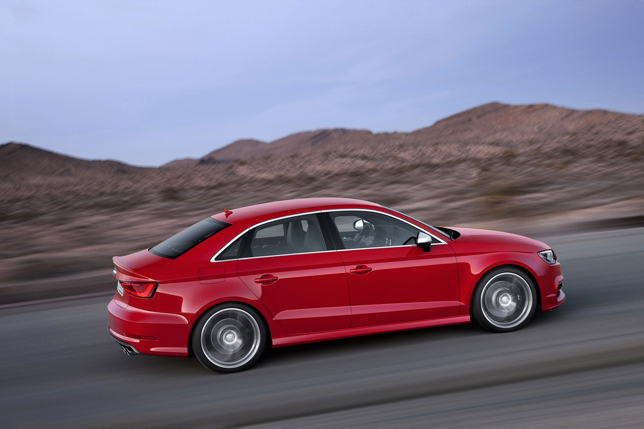 new 2014 audi a3 s3 sedan revealed nordschleife autoblahg. Black Bedroom Furniture Sets. Home Design Ideas