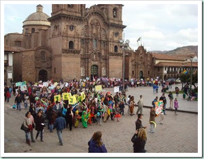 cusco march for jesus 2011