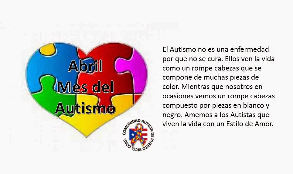 Resultado de imagen para mes del autismo