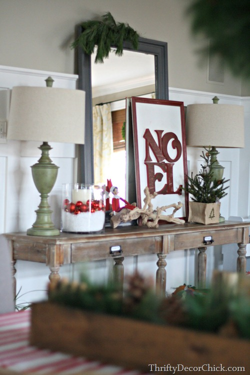 noel sign knock off pottery barn